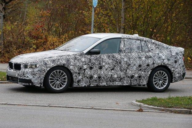 Започнаха тестовете в реални условия на BMW Серия 5 GT