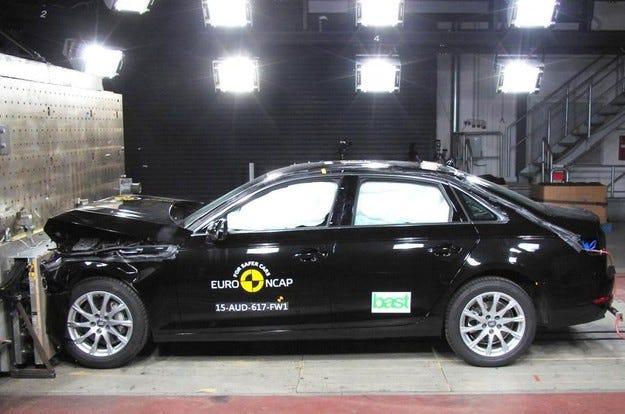 Audi A4, Honda HR-V и Honda Jazz с 5 звезди от Euro NCAP