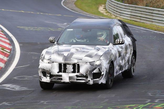 Maserati Levante: Луксозният кросоувър стартира през 2016