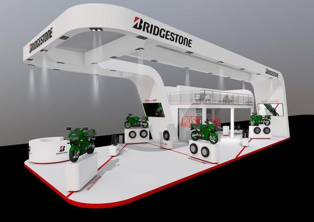 Нови продукти на щанда на Bridgestone на EICMA