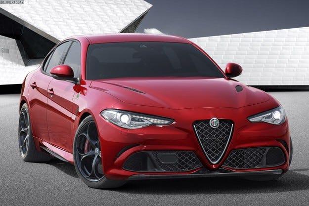 Дизайнът на Alfa Giulia е вдъхновен от 156, а не от Серия 3
