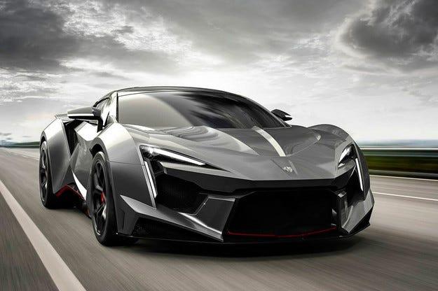 Арабската фирма W Motors представи нов суперавтомобил