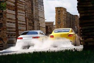 Bentley Continental V8 S срещу Mercedes-AMG S 63