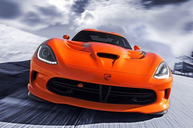 Спират производството на Dodge Viper  през 2017 г.