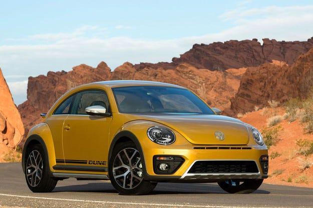 VW Beetle Dune: Завръщане на костенурката бъги