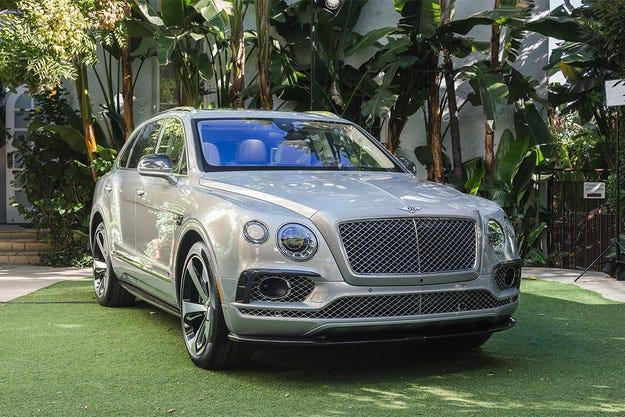 Кросоувърът Bentley Bentayga First Edition дебютира в САЩ