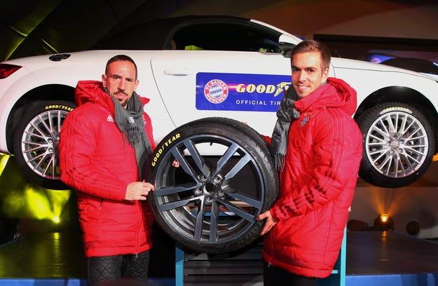 Goodyear става платинен спонсор на Байерн Мюнхен