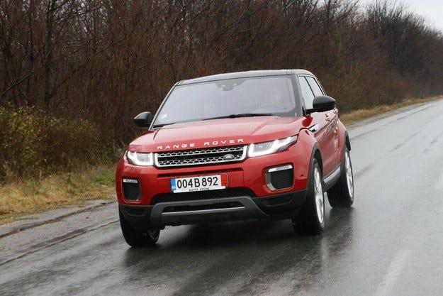 Range Rover Evoque: Дизайн, лукс и високи технологии