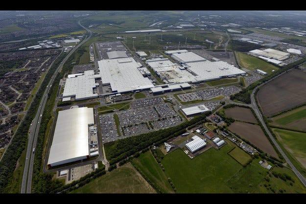 Стартира производството на Infiniti Q30 в Съндърланд