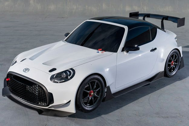 Купето Toyota S-FR получава състезателна версия