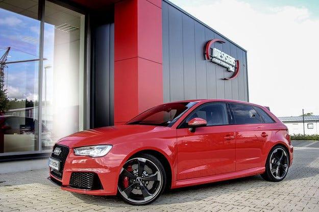 DTE Chiptuning Audi RS3 става палач на AMG