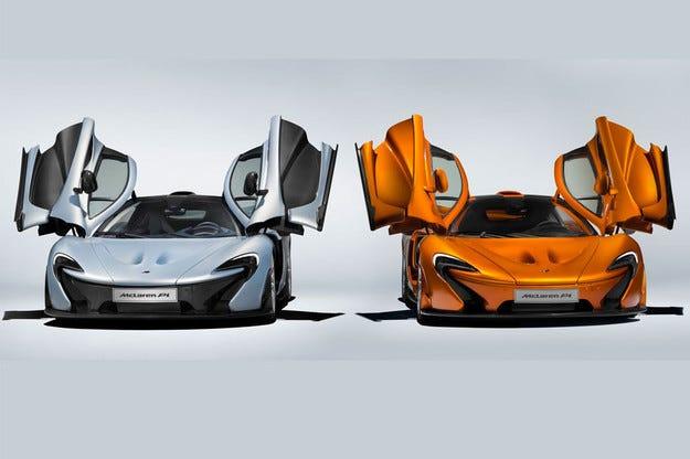 McLaren прати в историята хибридния супермодел P1
