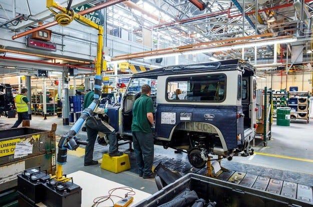 Jaguar Land Rover определи мястото за новия си завод