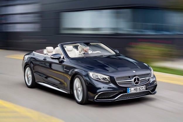 Mercedes-AMG представи кабриолета S65