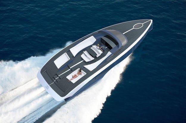 Супер яхтата Bugatti Palmer Johnson Niniette за 2 млн. евро