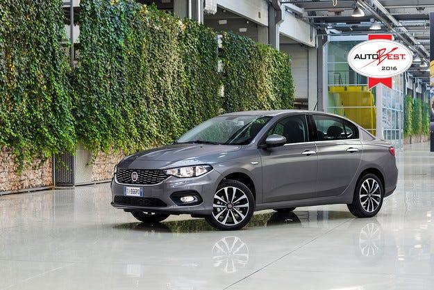 Fiat Tipo спечели наградата Autobest 2016