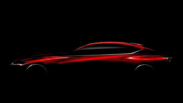 Acura Precision ще разкрие стила на новите модели