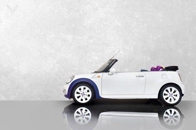 Най-ексцентричното MINI One Cabrio на света. От Vilner