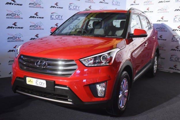 Hyundai CRETA стана Кола на годината на Индия