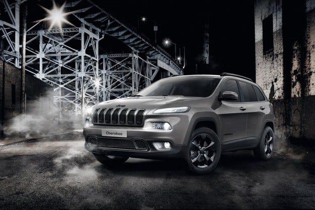 Специален Jeep Cherokee: Индианецът като Night Eagle