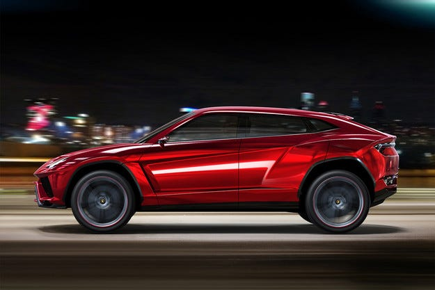 Lamborghini разработва най-бързия кросоувър в света
