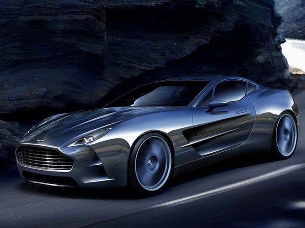 Aston Martin регистрира ново търговско име Aeroblade