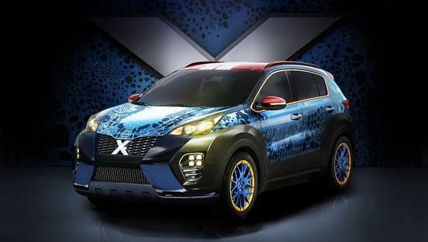 Специална версия на Kia Sportage в чест на филма X-Men