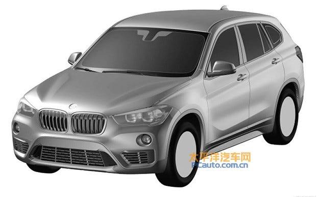Разсекретиха дизайна на дългата версия на новия BMW X1