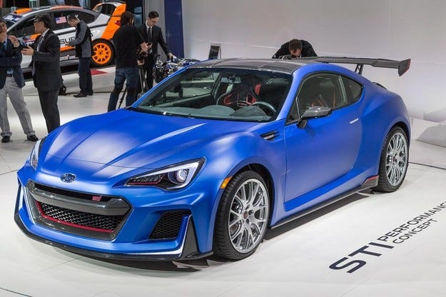 Subaru ще покаже три концепта на салона в Токио
