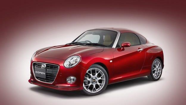 Daihatsu преобразува роудстъра Copen в купе и кросоувър