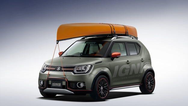 Префасонират серийни модели Suzuki в шоу автомобили