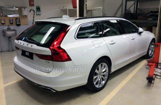 Разсекретиха Volvo V90 два месеца преди премиерата му