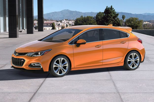 Chevrolet Cruze в Детройт: Opel Astra по американски