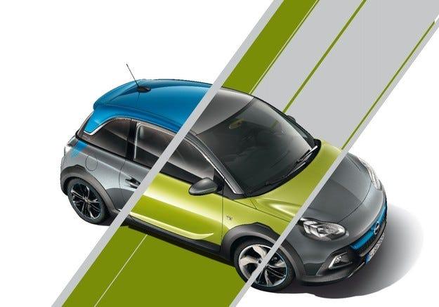 Индивидуалисти: Opel ADAM и ADAM ROCKS UNLIMITED