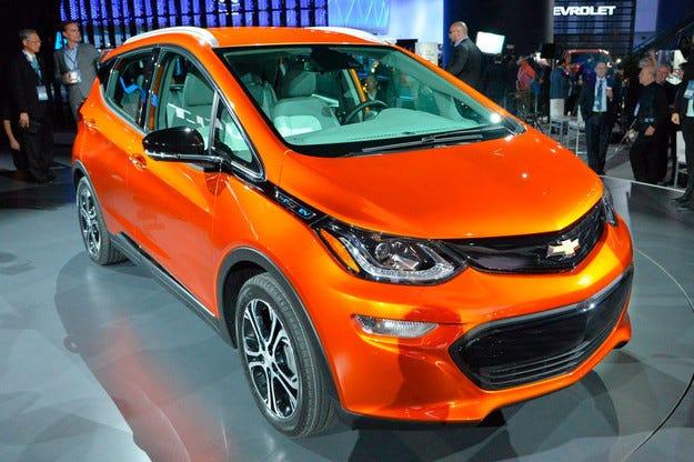Chevrolet показа бюджетния електромобил Bolt