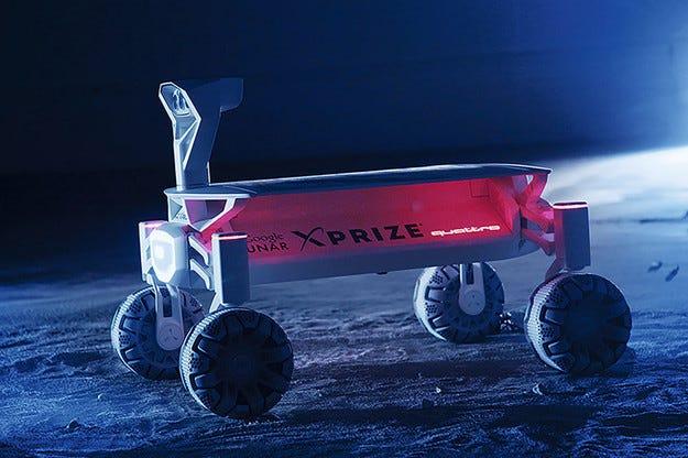 Компанията Audi  разработи електрически луноход
