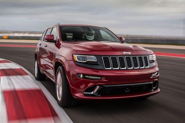 Jeep Grand Cherokee SRT Hellcat идва в края на 2017
