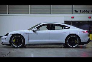 Рекорд за скорост на Porsche Taycan Turbo S на закрито
