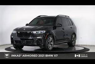 Канадци бронираха кросоувъра BMW X7