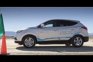 Hyundai Tucson Fuel Cell постави рекорд по скорост