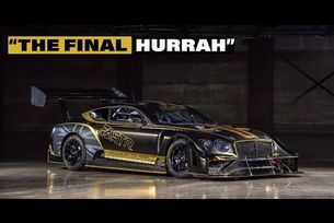 Bentley представя Continental GT3 Pikes Peak
