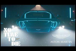 "Aston Martin промотира ""Не е време за умиране"""