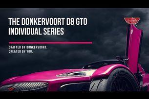 Новият Donkervoort D8 GTO Individual Series