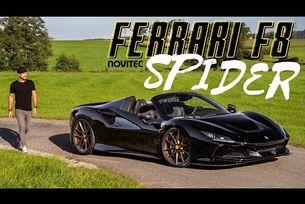 Ferrari F8 Spider от Novitec