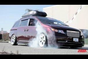 Bisimoto Honda Odyssey - най бързият ван в света