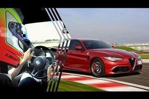 Alfa Romeo Giulia Quadrifoglio: нов рекорд на Нюрбургринг (7:32)
