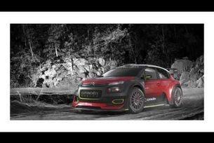 Citroen показа новия C3 WRC