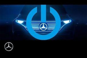 Електрически кросоувър на Mercedes видео тийзър