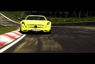 SLS AMG Coupé Electric Drive постави рекорд на Нюрбургринг