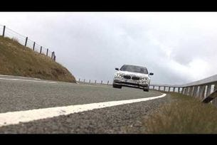 2017 BMW Серия 5 шпионско видео